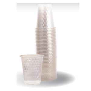 """כוס יהלום איכותי ארוז 25 יח' 240 מ""""ל ר.שמאי"""