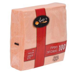 מפיות 100 אפרסק (102)  ר.שמאי