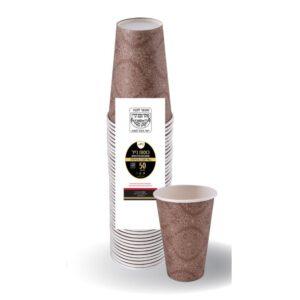 """כוסות קרטון איכותי 9OZ ארוז 50 יח' 260 מ""""ל  ר.שמאי"""