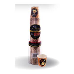 כוסות קרטון איכותי 2.5OZ ארוז 50 יח'  ר.שמאי