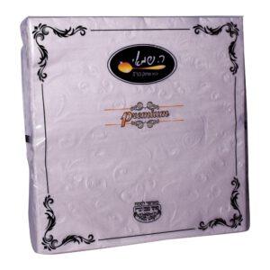מפיות מוטבעות לבן פנינה 15 יח' (478003) ר.שמאי