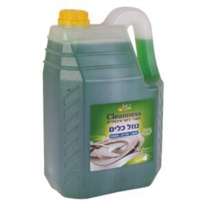 נוזל כלים 4 ליטר ר.שמאי