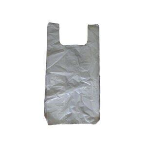 שקיות גופיה מחורר לבן 1,000 ספור - 50/60 HDמיקרון 0.018